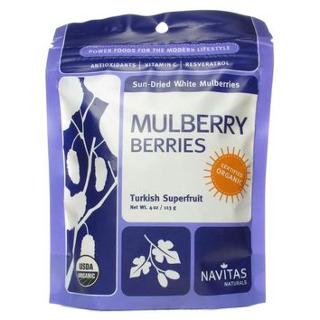 Navitas Naturals Mulberry Berries 4 oz.