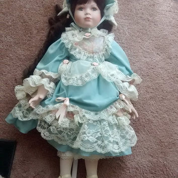 Gorgeous Victorian Porcelain Doll- Limited Edition