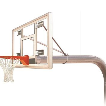 First Team Brute Select In Ground Outdoor Fixed Height Basketball Hoop 60 inch Acrylic