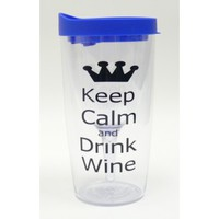 Monogrammed Wine Sippy Cups - Keep Calm & Drink Wine - $15.99 - Monogrammed Wine Sippy Cups - The Beadcage - Jewelry & Gift