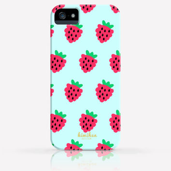 Strawberry Pattern Summer iPhone 4/4s iPhone 5/5s Case