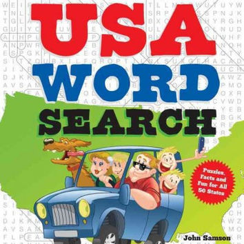 USA Word Search: Puzzles, Facts and Fun for All 50 States