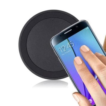 2018 Colorful Universal Qi Wireless Power Charger Charging Pad For Samsung Galaxy S8/S8 Plus Quick Charger For Cell Phone