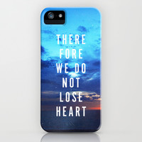DO NOT LOSE HEART iPhone & iPod Case by Pocket Fuel