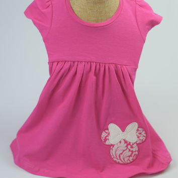 "The ""Minnie"" Dress by Mandy Lou {Pink}"