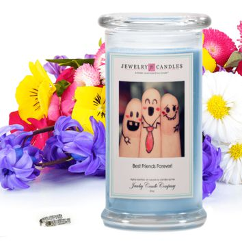 Best Friends Forever - Jewelry Greeting Candles