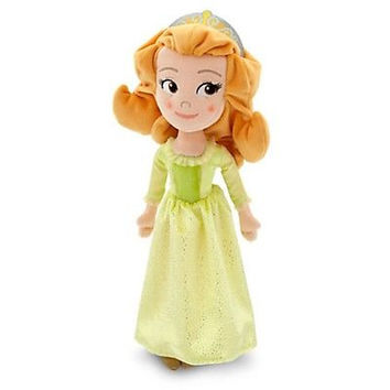 "disney store sofia the first amber doll 13"" plush doll toy new with tag"