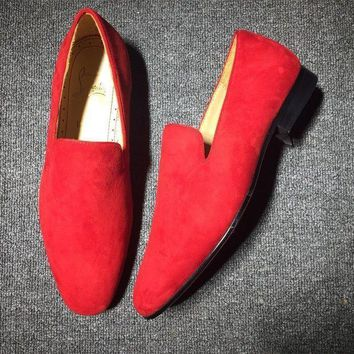 DCCK Cl Christian Louboutin Loafer Style #2331 Sneakers Fashion Shoes