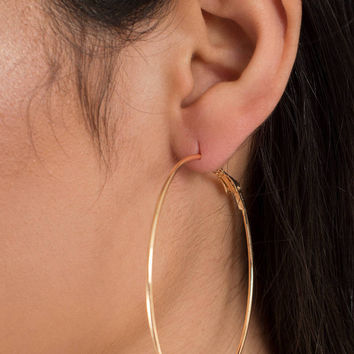 On The Ball Hoop Earrings