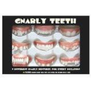 Gnarly Teeth, Set of 9