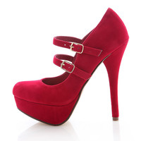 Double Take Platform Stilettos