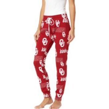 Concepts Sport Women's Oklahoma Sooners Crimson Slide Sleep Pants | DICK'S Sporting Goods