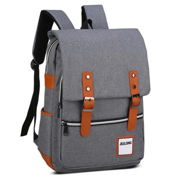 2017 Japan and Korean Style School bags Men's Backpacks Mochila for Laptop 14-15 Inch Notebook Computer Bags Women Backpack
