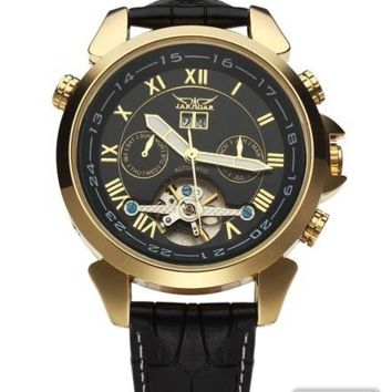 Jaragar Men's Luxury Flywheel Watch