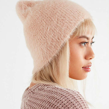 Fuzzy Furry Beanie | Urban Outfitters
