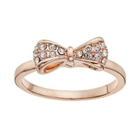 LC Lauren Conrad Bow Ring (Rose Tone)