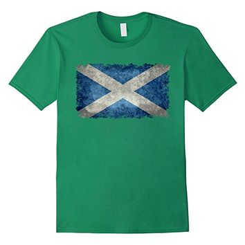 Vintage Scottish Flag T-Shirt