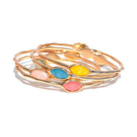 Candy Jewel Bangles | Jeweliq Fashion Bracelets