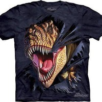 T-Rex Tearing Kids T-Shirt
