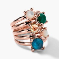 Ippolita 'Wonderland' Rose Stack Ring