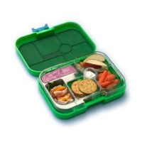 Yumbox Leakproof Bento Lunch Box Container (Pomme Green T) for Kids