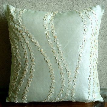 Blossoms Blown Throw Pillow Covers 16x16 by TheHomeCentric