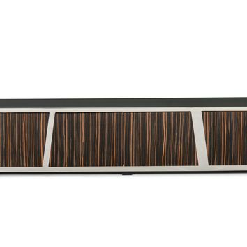 Modrest Sherman Modern Ebony TV Stand