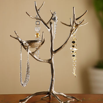 Jewelry Tree with Nest