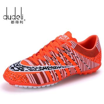 DUDELI Football Boots Soccer Shoes Men Superfly Cheap Football Shoes For Sale Kids Cleats Indoor Soccer Shoes Superfly Chuteira