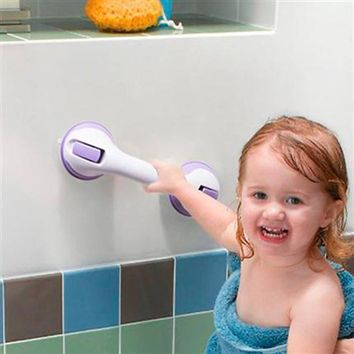 Zhangji Safety Helping Handle Anti Slip Support Toilet bathroom safe Grab Bar Handle Vacuum Sucker Suction Cup set of 2 ZJ19