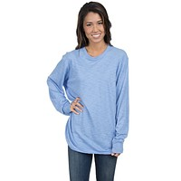 Slouchy Tee in Polar Blue by Lauren James - FINAL SALE