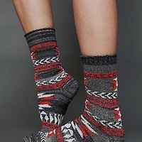 Free People  Clothing Boutique > Southwestern Boot Sock