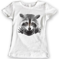 Raccoon It's Not Me Funny T-Shirts Ladies Gift Idea Mens 100% Cotton