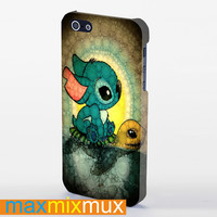Stich And Turtle iPhone 4/4S, 5/5S, 5C Series Full Wrap Case