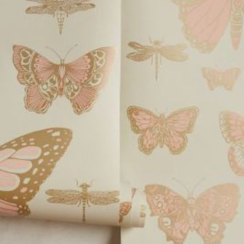 Lepidoptera Wallpaper by Anthropologie