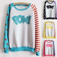 AWESOME FUNKY POW SWEATER