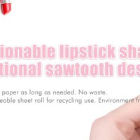 """Makeup Blotting Papers Oil Absorbing Paper Sheet Roll for Face - 2.75"""" X 275"""" - Panda"""