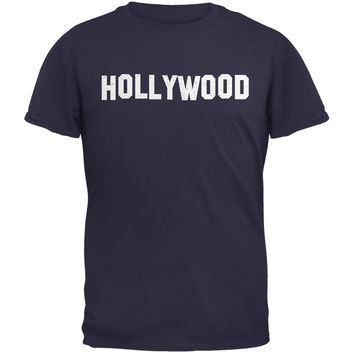 Hollywood Navy Adult T-Shirt