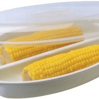 Progressive International Microwavable Quick Cobs Corn Steamer
