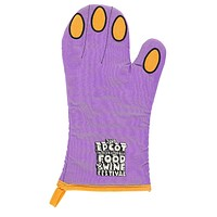 Disney 2017 Epcot Food & Wine Festival Figment Oven Mitt New with Tags
