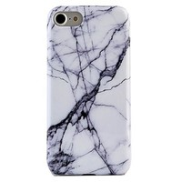 White & Gray Marble iPhone Case