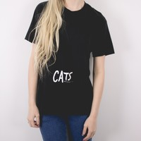 Vintage 1981 Cats Broadway T Shirt