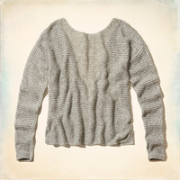 Hidden Hills Lace Back Sweater