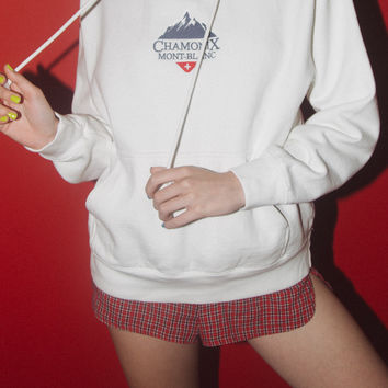 Christy Chamonix Mont-Blanc Hoodie - Sweatshirts - Embroidery - Graphics