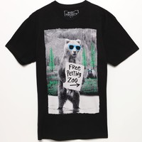 Riot Society Free Petting Zoo T-Shirt - Mens Tee - Black
