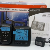 AcuRite 08580 Weather Station Plus Portable Weather Alert Radio FREE SHIPPING