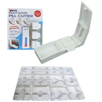 Multi-Shape Precision Pill Cutter - As Seen on TV