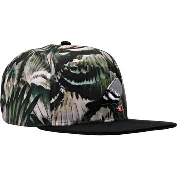 Staple Feather Camo Snapback - Olive