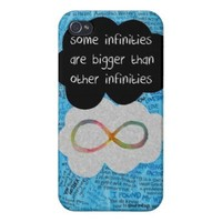 John Green The Fault In Our Stars quote iPhone 4/4S Cases from Zazzle.com