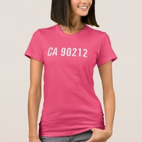 Beverly Hills CA 90212 T-Shirt